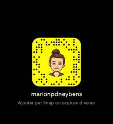 Snapcode Marion